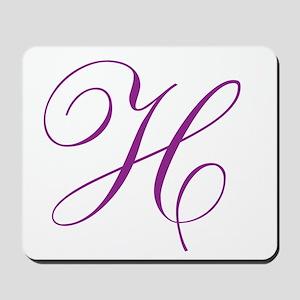 Personalized Monogram Initial Mousepad