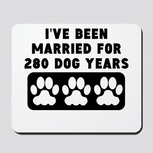 40th Anniversary Dog Years Mousepad
