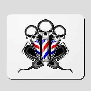 Barber Skulls Mousepad
