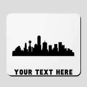 Dallas Cityscape Skyline (Custom) Mousepad