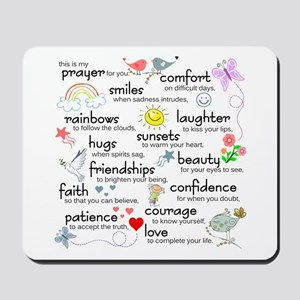 My Prayer For You Mousepad