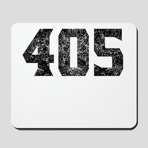 405 Oklahoma City Area Code Mousepad
