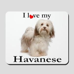 Love My Havanese Mousepad