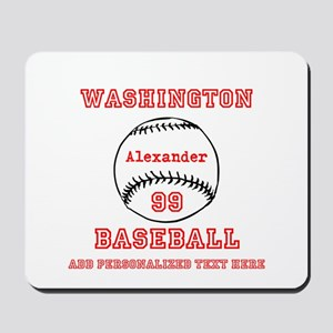 Baseball Personalized Mousepad