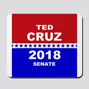 Ted Cruz Senate 2018 Mousepad