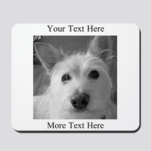 Your Text and Your Photo Here Mousepad
