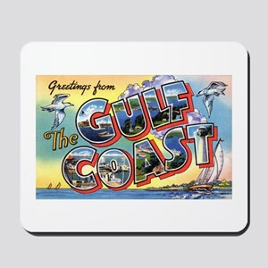 U.S. Gulf Coast Greetings Mousepad