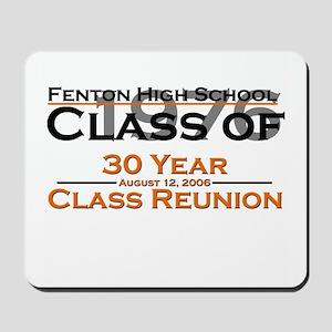 Fenton Class of 1976 30 Year  Mousepad