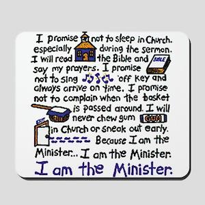 I'm the Minister Mousepad