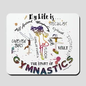 The Story of Gymnastics Mousepad