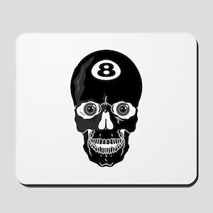 Eight Ball (8 Ball) Skull Mousepad