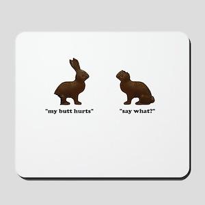 Chocolate Bunnies Mousepad