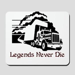 Legends Never Die Mousepad