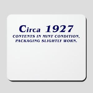 CIRCA 1927 Mousepad