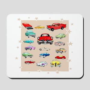 Classic Cars Mousepad