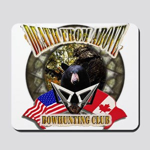 death from above bow hunting Mousepad