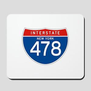 Interstate 478 - NY Mousepad