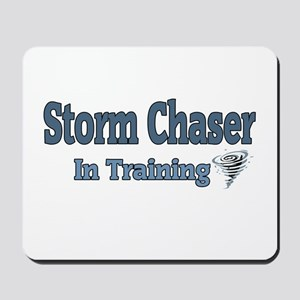 Storm Chaser In Training Mousepad