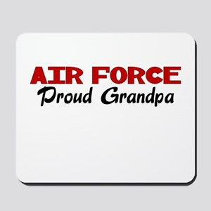 Air Force Grandpa Mousepad