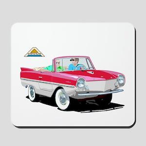 The Amphibious Car Mousepad