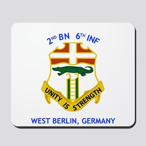 2nd BN 6th INF Gear Mousepad