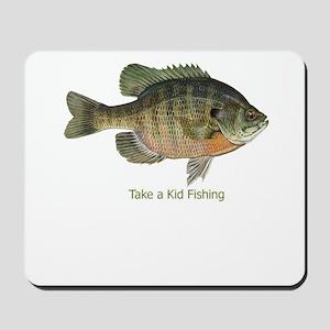 Take a Kid Fishing Mousepad