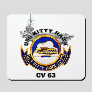 USS Kitty Hawk CV-63 Mousepad