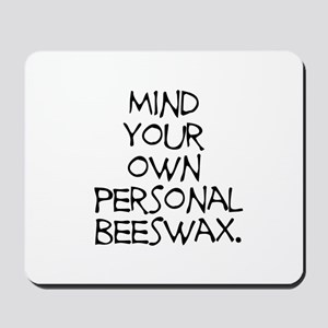 Personal Beeswax Mousepad
