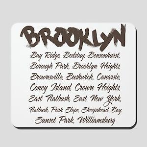 Brooklyn Hoods Mousepad