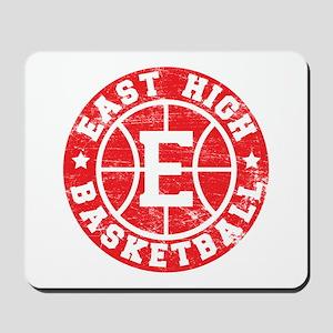 East High Basketball Mousepad