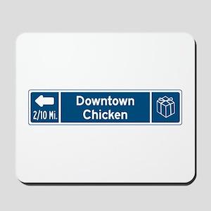 Chicken, Alaska Mousepad