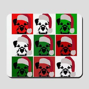 New Warhol Santa hat Mousepad
