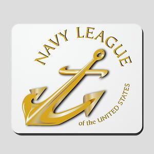Navy League Mousepad