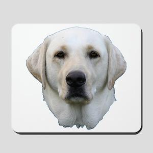 White lab 3 Mousepad