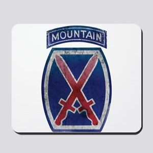 10th Mountain Division - Clim Mousepad