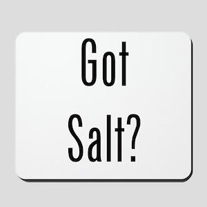 Got Salt? Black Mousepad