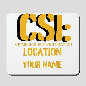 Customizable CSI Mousepad