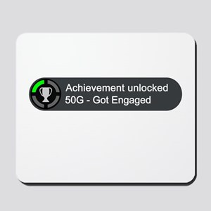 Got Engaged (Achievement) Mousepad