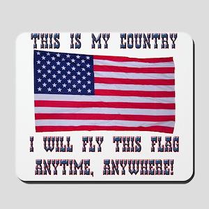 Flag2 Mousepad
