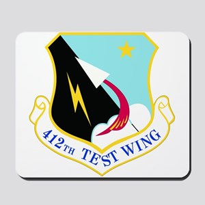USAF Air Force 412th Test Wing Shield Mousepad