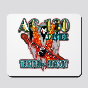 AC-130 Spectre The Night Hides Not Mousepad