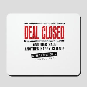 Deal Closed Mousepad