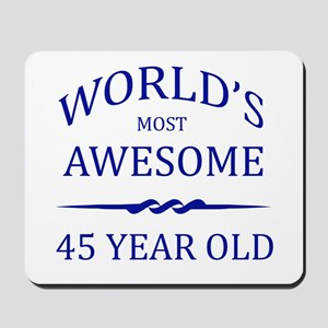 World's Most Awesome 50 Year Old Mousepad