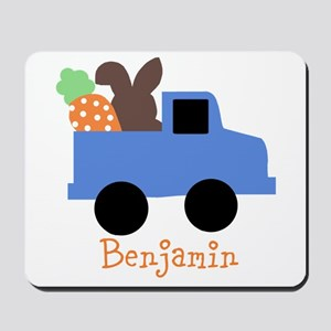 Easter time truck personalized Mousepad