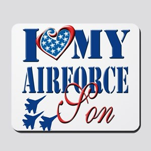 I Love My Airforce Son Mousepad