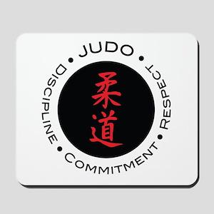Judo Logo circle Mousepad