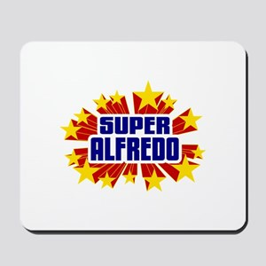 Alfredo the Super Hero Mousepad