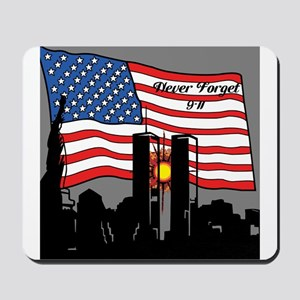 Never Forget 9-11 Mousepad