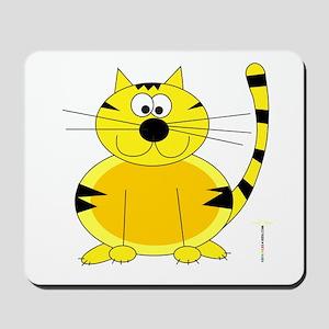 ORANGE FARM CAT Mousepad