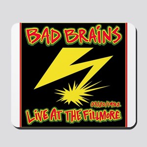 Bad Brains Live at the Fillmore 1982 Mousepad